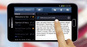 samsunggalaxynote-screen-300x162 Galaxy Note: tablet of telefoon?